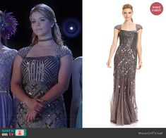 Ali's Christmas ball gown on Pretty Little Liars.  Outfit Details: http://wornontv.net/41694/ #PLL