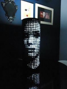 Arte em PVC (Luminárias)