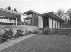villa pescher in wuppertal architektur richard neutra private houses pinterest. Black Bedroom Furniture Sets. Home Design Ideas