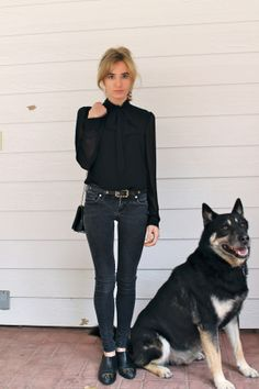 #fashion #blog #dog #chanel #vintage #ootd #style #blogger #follow #black #zara #hm #photography