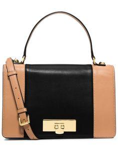 Spotted this MICHAEL Michael Kors  Callie Medium Leather Messenger Bag on Rue La La. Shop (quickly!).