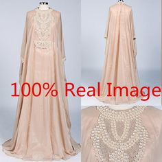 Modest Champagne Chiffon Mother Of The Bride Dresses High Neck Detailed Pearls Beaded Sweeptrain 2016 Custom Made Women Formal Evening Gowns Mother Of The Groom Dresses For Summer Motherofthebride From Whiteone, $127.79| Dhgate.Com