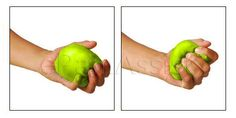 Ball Squeezing, Forearm and Wrist Strengthening Exercises for Tennis Elbow