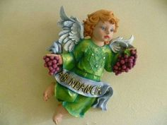Angel de la abundancia Angel Heart, Fairy Art, Cherub, Cupid, Decoupage, Victorian, Dolls, Antiques, Drawings