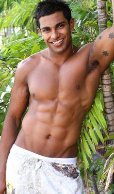 DENHAM RAVI, Australian base fitess model born... | daily GUYzette