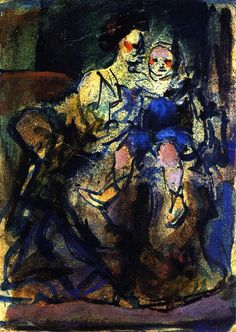 The Athenaeum - Mother and Child (Georges Rouault - )