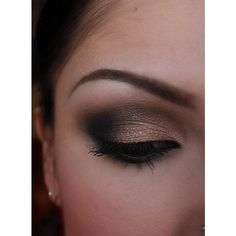 This is my everyday eye makeup ❤ liked on Polyvore featuring makeup, eyes, beauty, eye makeup and make