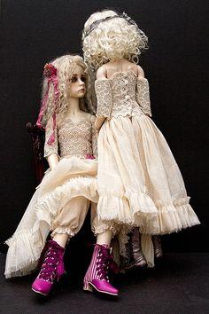 Darcy and Fleur ' Secrets ' 1 | by jeanoak (Lililace Originals)