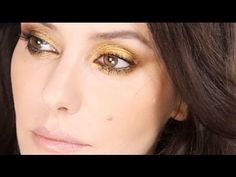 Lisa Eldridge - Golden Smokey Eye. For more tips and a list of products visit my website http://www.lisaeldridge.com/video/3190/golden-smokey-eye/  #Makeup #Beauty #Tutorial