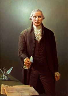 paintings of george washington | Robert Schoeller Painting: George Washington Portrait FP000