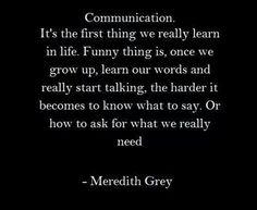 Communication...