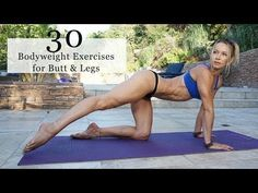 30 Bodyweight Exercises for BUTT & LEGS - 5 Minute Fit Friday with Z - YouTube