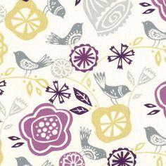 Keepsake Calico Fabric- Birds And Blooms at Joann.com