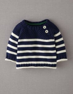 Explore our exciting range of baby knitwear at Boden. Knitting Patterns Boys, Baby Cardigan Knitting Pattern, Baby Boy Knitting, Knitting For Kids, Baby Patterns, Baby Boy Sweater, Knit Baby Sweaters, Men Sweater, Crochet For Boys