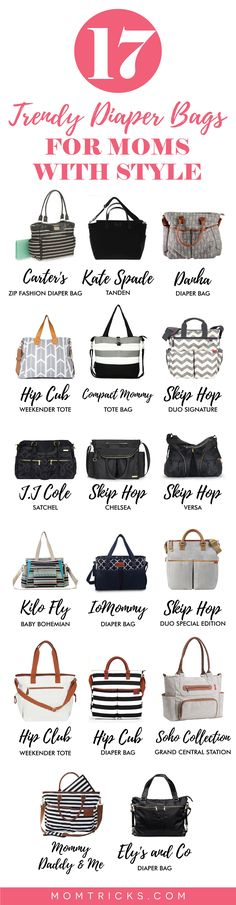 17 of the very best diaper bags that you\'ll love to carry.