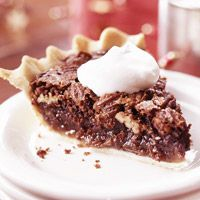 A Southern dessert classic, this chess pie is loaded with pecans. Serve it with Texas-size dollops of whipped cream.