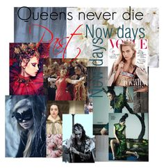 """""""Queens never die"""" by jozikgasparyan ❤ liked on Polyvore featuring art"""