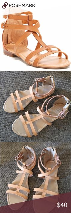 Carini Sandals worn a few times but I'm amazing shape, super comfortable, great brand  ⁉️I'm happy to answer all your questions, please ask them before you buy so I can make your purchase in my closet absolutely perfect. Carini Shoes
