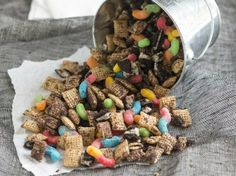 The kids will love this sweet Chex mix reminiscent of a very famous Missouri native, Mark Twain, creator of the legendary character Huck Finn.