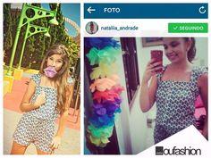 Natalia Andrade, nossa cliente linda, arrasando com o look da OU!