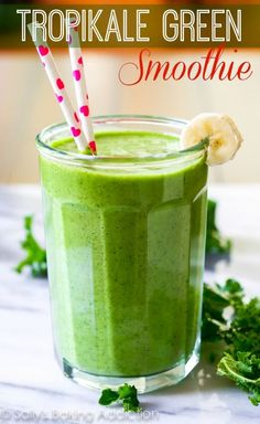 Tropikale Energy Smoothie. (via Bloglovin.com )