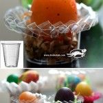 http://krokotak.com/2013/04/plastic-cup-and-container-egg-stands/ Plastic Cup and Container EGG STANDS
