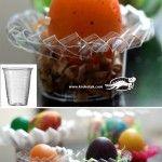 От пластмасови чашки и кофички – поставки за яйца