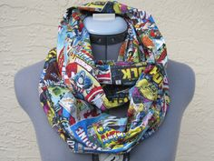 marvel comic scarf