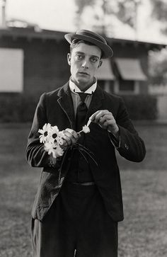 """Think slow, act fast."" - Buster Keaton"