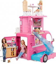 Barbie Pop-Up Camper Vehicle  This is one of the best toy for girls. It has many features in it.