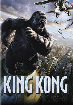 King Kong is a 2005 Action, Adventure film directed by Peter Jackson and starring Naomi Watts, Jack Black. Jack Black, Funny Dog Photos, Funny Dog Videos, Funny Pictures, Colin Hanks, Naomi Watts, King Kong 2005, Justin Bieber Jokes, Arte Nerd