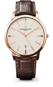 """Best Luxury Watches for Men. 5. Vacheron Constantin Patrimony 85180. Founded by Jean-Marc Vacheron in 1755, Vacheron Constantin is the oldest Swiss watchmaker in the world. The company is based in Geneva, and operates with the motto: """"Do better if possible, and that is always possible""""."""