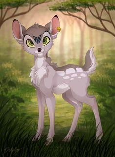 Dolphy - Bambi-Style by *DolphyDolphiana on deviantART
