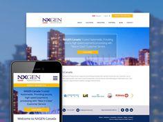 NXGen Canada - Web Design & Development / Responsive Web Design Responsive Web Design, Design Development, Canada, Business, Blog, Blogging