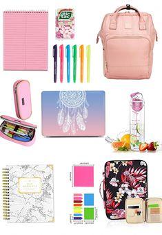 High school supplies, school supplies organization, college supplies, s