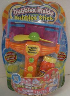Amazing Bubbles Inside Bubbles Bubble Stick & 4 oz Premium Solution #Placo