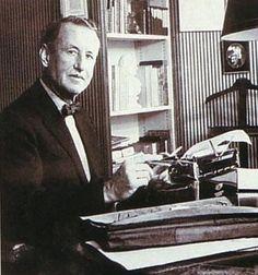 Ian Fleming & his Gold Plated Royal Typewriter