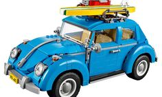 LEGO just unveiled their model of a 1960's VW Beetle. The model aims to recreate classic details of the iconic car and will be available for $99.99 this August.