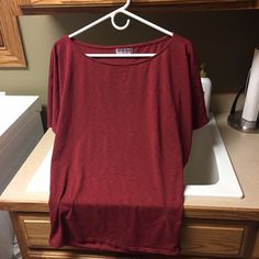 Michael Stars shirt One size fits most Michael Stars Rust colored top - excellent condition!! Michael Stars Tops Tees - Short Sleeve