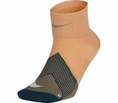 Nike Unisex Spark Lightweight Qtr Running Socks Fuel Orange/Teal M Running Socks, Nike Running, Orlando Magic, Teal Orange, Basketball Players, Unisex, Fashion, Moda, Fashion Styles