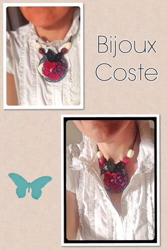 Collier bijoux coste