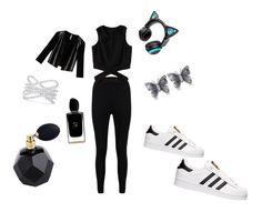 """Bez naslova #19"" by senada900 ❤ liked on Polyvore featuring Boohoo, adidas, Effy Jewelry, Allurez, Brookstone, Max&Co. and Giorgio Armani"