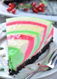 Christmas Cheesecake (single-piece)