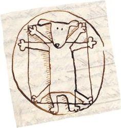 """""""Cada cuadro con su cuento"""". Leonardo, recreado por Ximena Maier"""