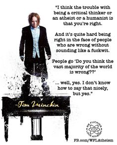Tim Minchin....No divine intervention....your religion is based off of where you were born. Come on people, it is not that hard to understand