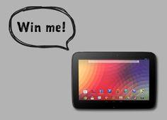 Sweepstakes - Win A #Nexus 10 Tablet - USA/CANADA http://www.linkiescontestlinkies.com/2013/11/sweepstakes-win-nexus-10-tablet.html