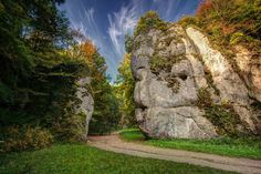 Poland - Cracow Gate in the Valley Prądnik The Beautiful Country, Krakow, Places Ive Been, Mount Rushmore, Cool Photos, Golf Courses, Waterfall, National Parks, Mountains