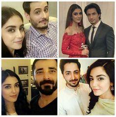 Which of these on screen pairing of our #GirlCrush #MayaAli is your favourite? #OsmanKhalidButt #AliZafar #HumzaAliAbbasi #DanishTaimoor!  #PakistaniActresses ✨