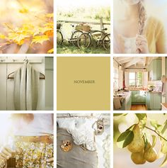 ChicDecó November Mood Board #November
