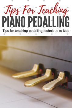 Piano Teaching How to avoid the choppy and disjointed or muddy, blurred balls of indiscernible sound that can happen when young children use the damper pedal. Piano Lessons, Music Lessons, Guitar Lessons, Guitar Tips, Piano Pedals, Learn Piano Beginner, Piano Teaching, Learning Piano, Playing Piano